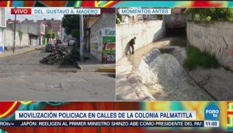 Continúa movilización policiaca en Cuautepec