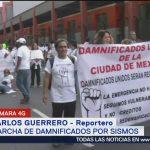 Damnificados del 19-S reclaman vivienda digna