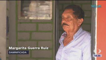 Damnificados Recuerdan Sismo Oaxaca