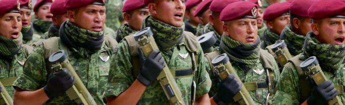 Desfile Militar del 16 de septiembre en México en imágenes