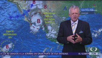 Despierta con Tiempo: Remanentes de depresión tropical 19-E