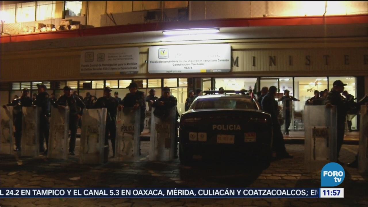 Detienen a menores acusados de robo en la CDMX