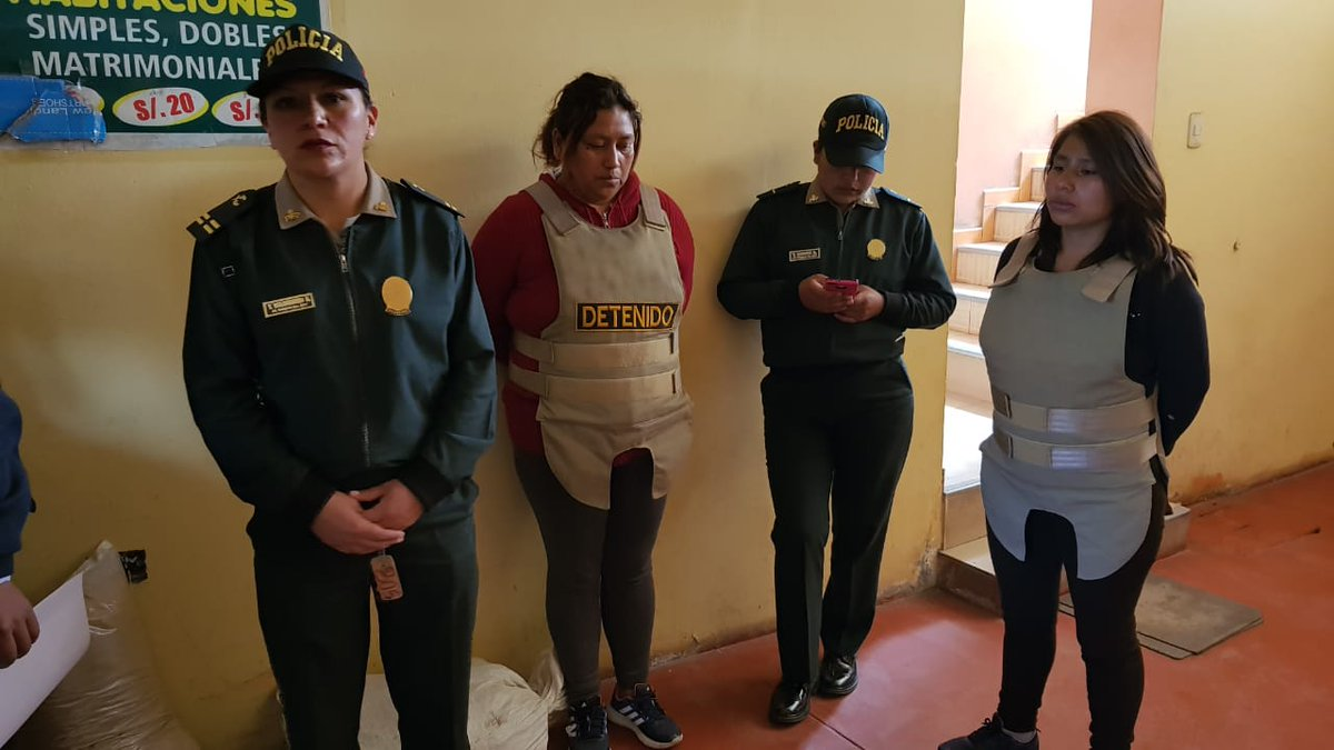 Detienen a mujer peruana acusada de violar a sus hijas
