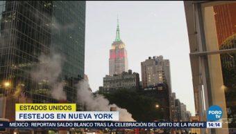 Empire State NY Celebra Independencia México