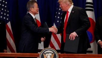 Estados Unidos y Corea del Sur firman acuerdo comercial