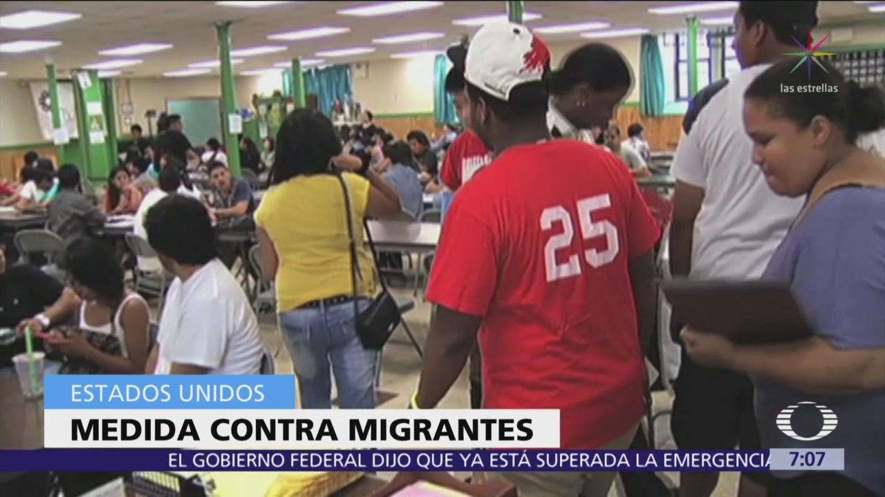 Estados Unidos podría impedir a migrantes obtener visas