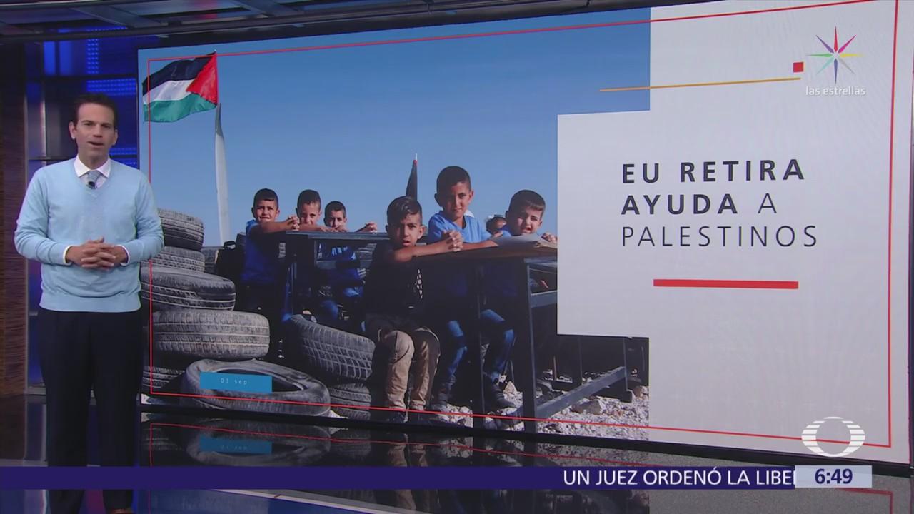 Estados Unidos suspende fondos para agencia que apoya a refugiados palestinos