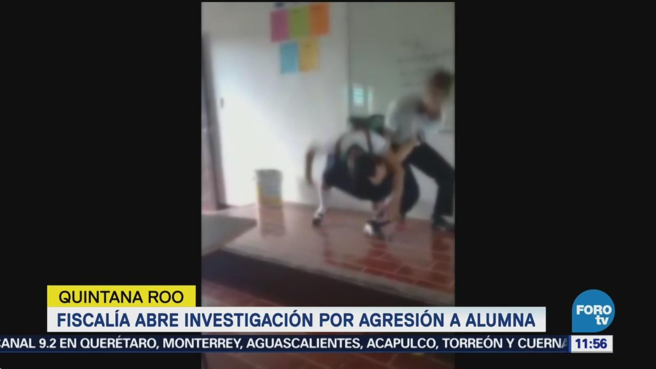 Estudiantes involucrados en agresión en CECYTE Quintana Roo