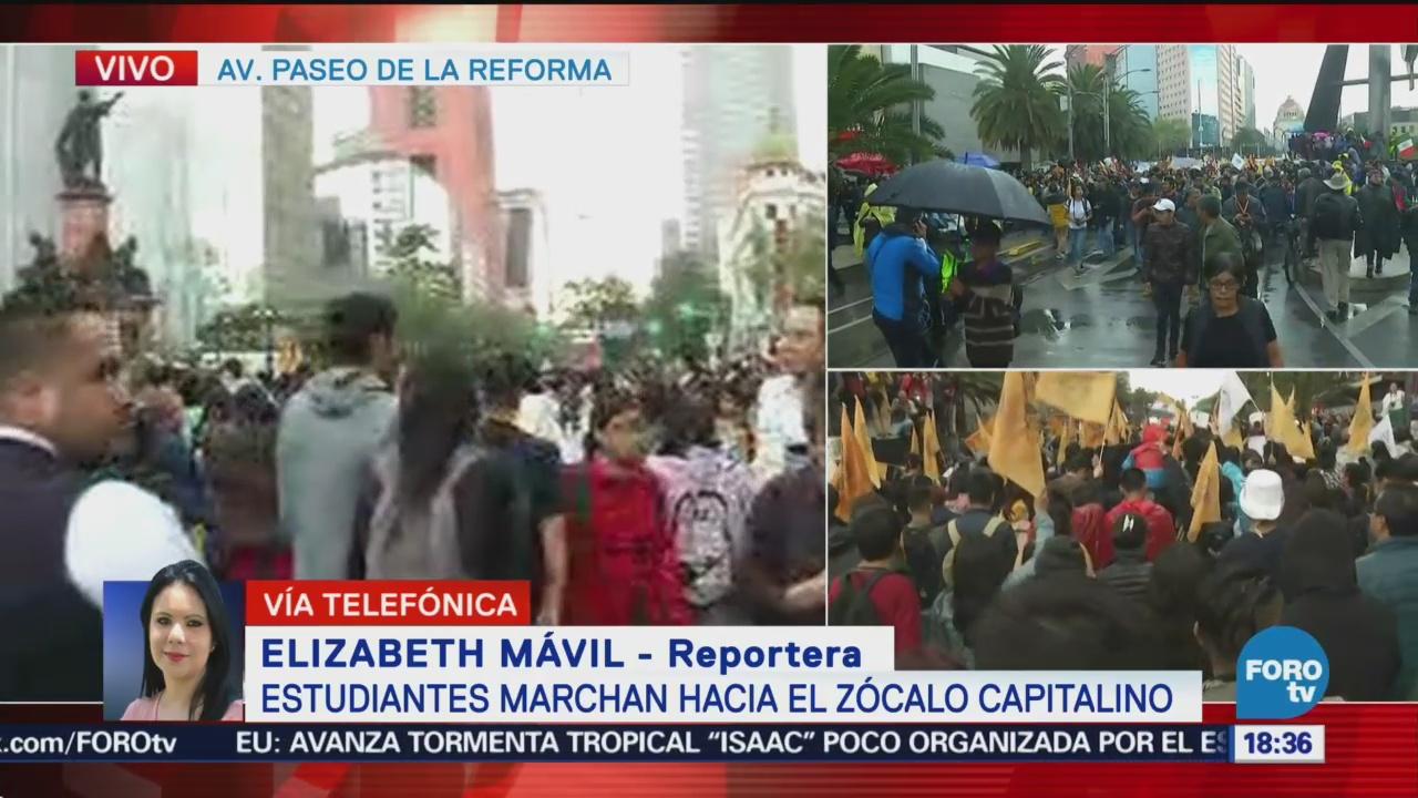 Estudiantes piden erradicar la violencia de la UNAM