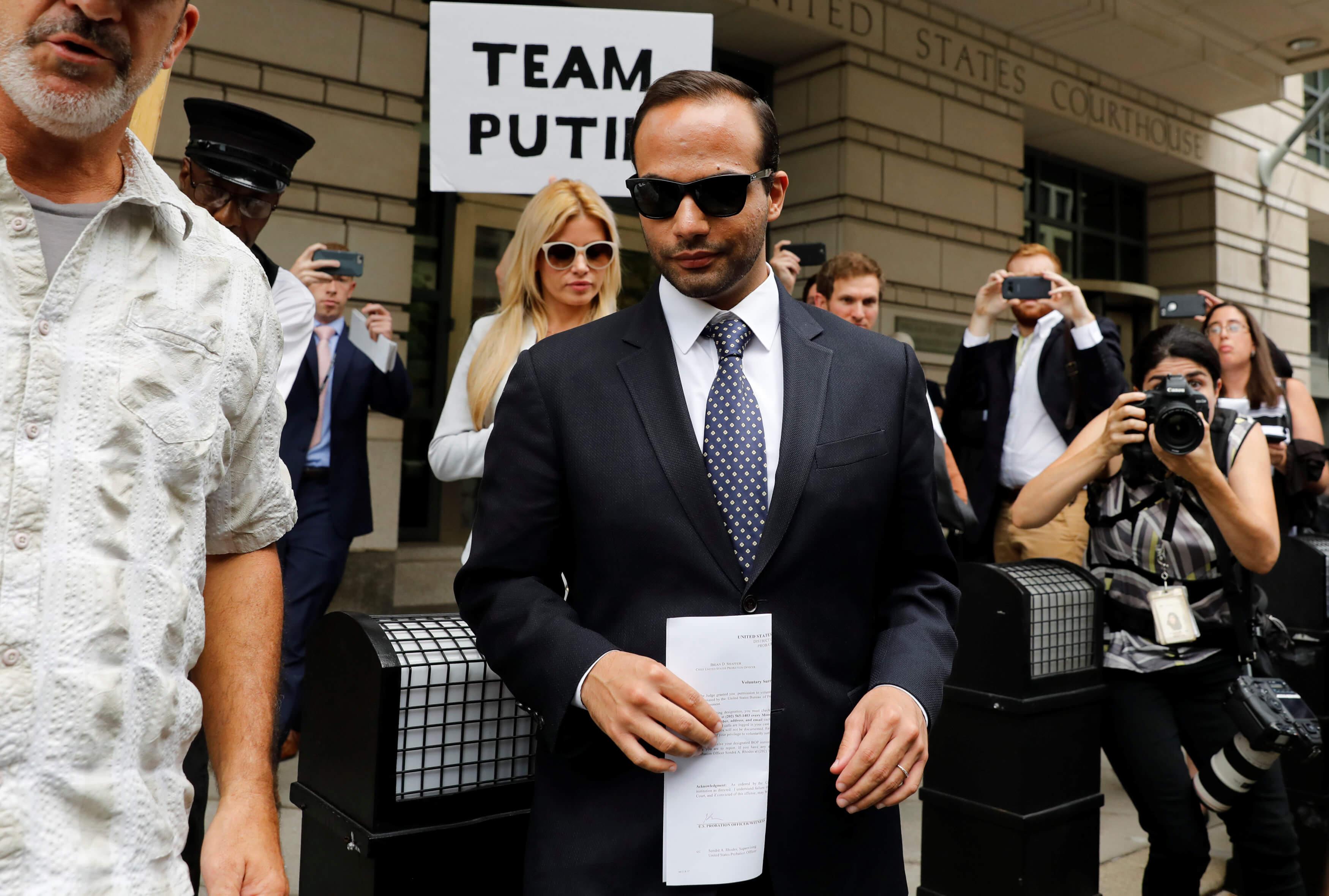 Exasesor de Trump sentenciado a 14 días de cárcel por mentir
