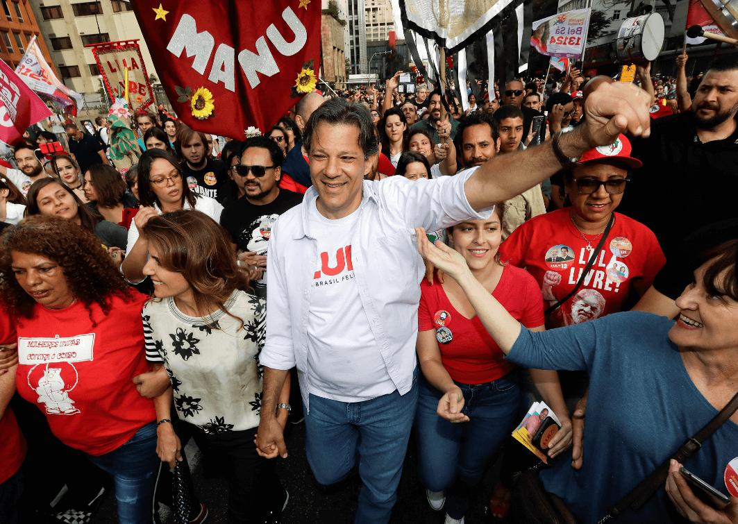 Haddad no indultará a Lula si llega a la presidencia de Brasil
