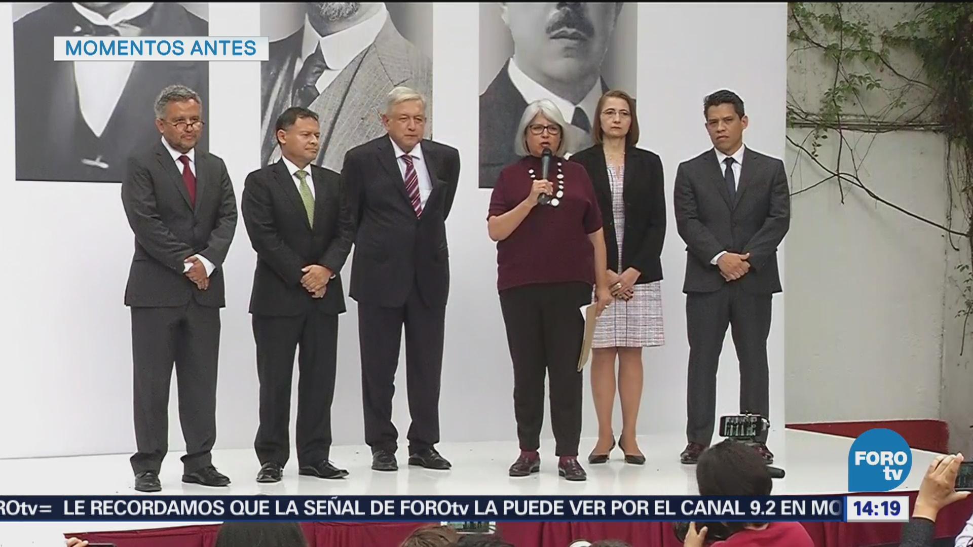 Graciela Márquez Presenta Proyectos Económicos Gobierno De AMLO