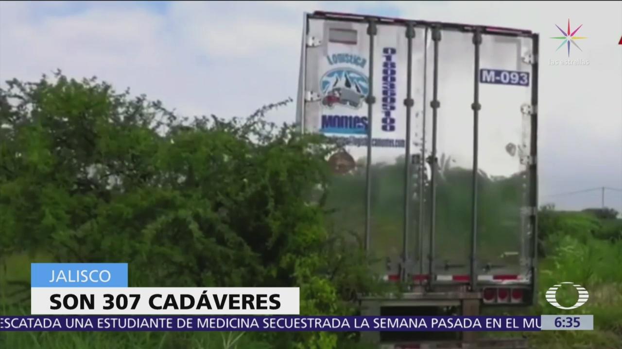 Hay segundo tráiler con cadáveres en descomposición Jalisco