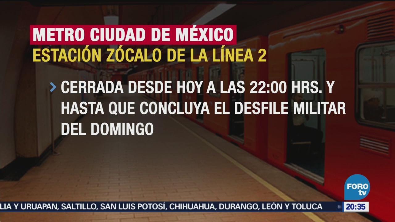 Horarios Metro Metrobús Durante 16 De Septiembre