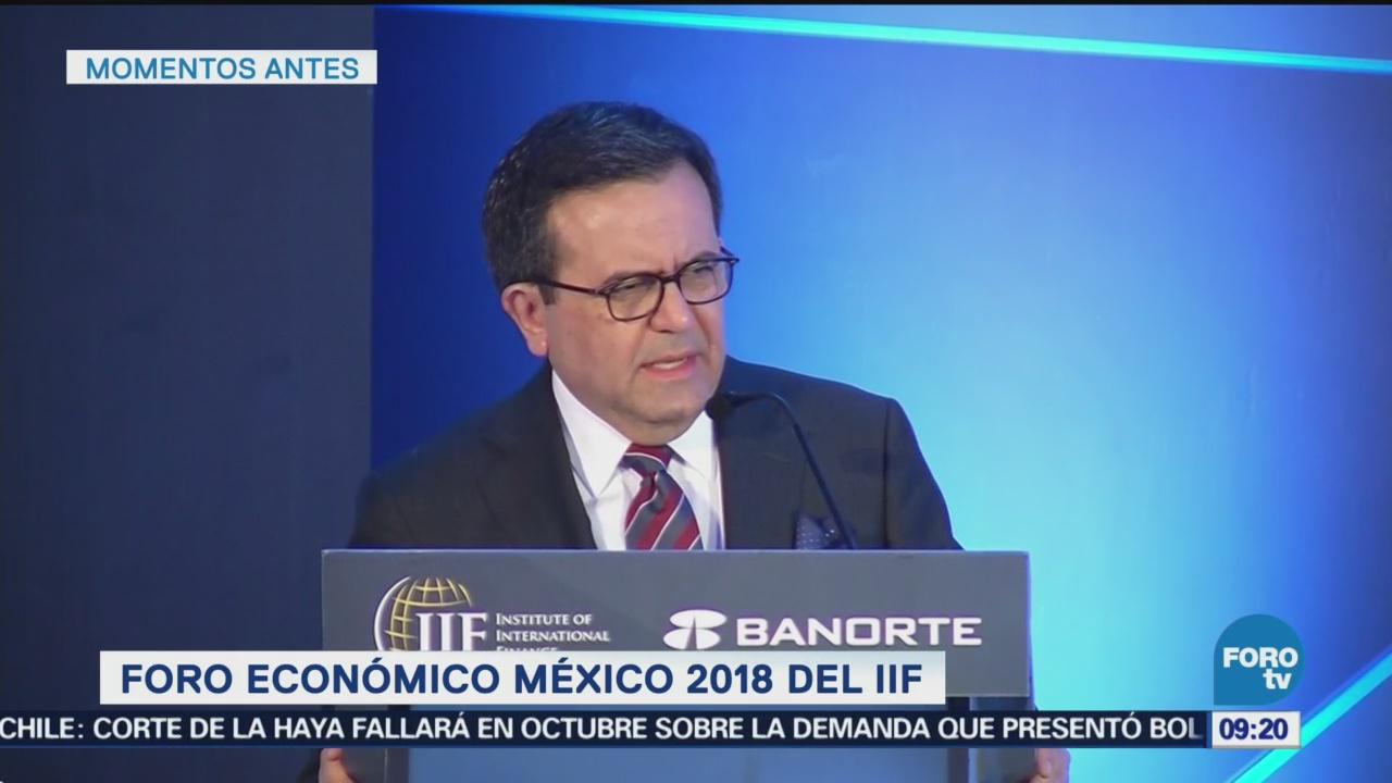Ildefonso Guajardo inaugura Foro Económico México 2018