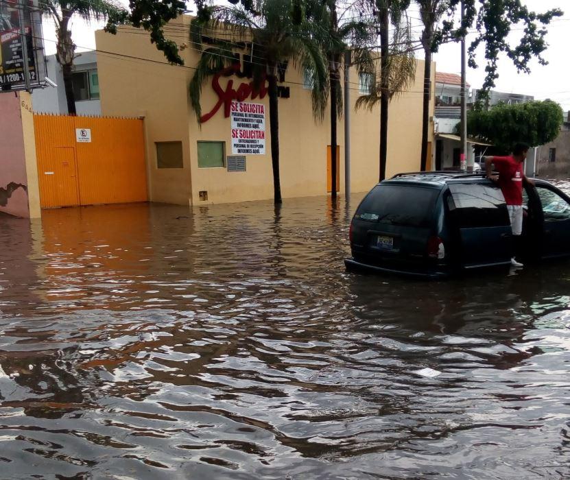 Lluvias en Guadalajara domingo 2 de septiembre 2018