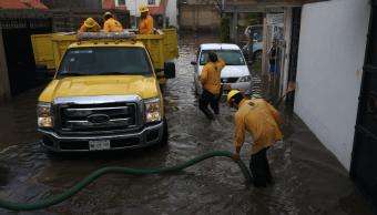 Inundaciones afectan al menos 15 colonias de Jojutla, Morelos