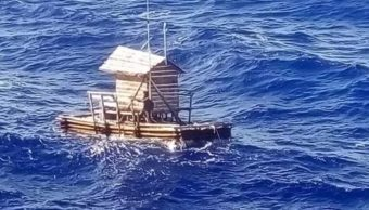 Indonesia: naufrago pasa 48 días en mar con trampa de peces