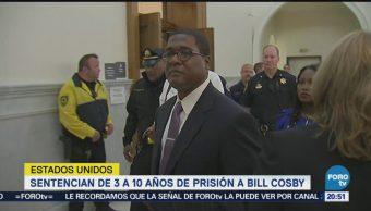 Sentencian Bill Cosby Años Prisión Violación
