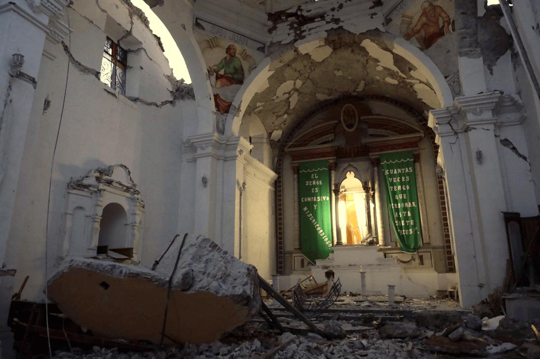 Sismo del 19S dejó severos danos en Puebla