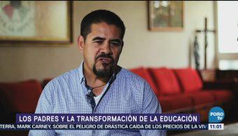 La participación de los padres para la transformación