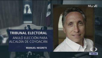 Anulan Elección Alcaldía Coyoacán