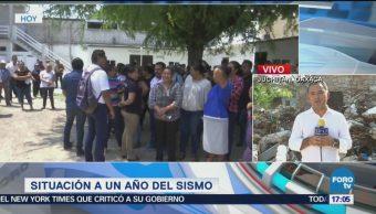 La gente en el Istmo de Tehuantepec busca normalizar su vida