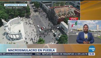 Estado De Puebla Participa Macrosimulacro Sismos