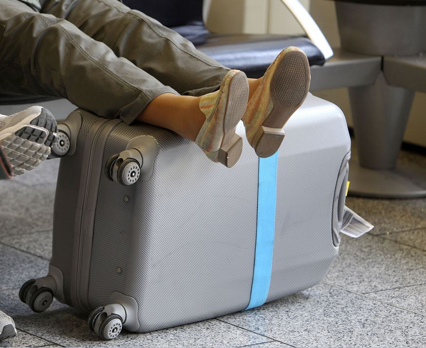 Evita que roben tu maleta con este tip
