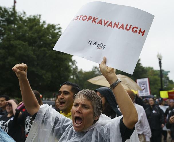 Trump defenderá 'hasta el final' a Kavanaugh