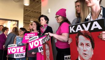 Trump cuestiona veracidad de acusaciones contra Kavanaugh