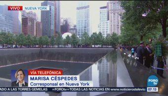Memorial del WTC de Nueva York, a 17 años del 11S