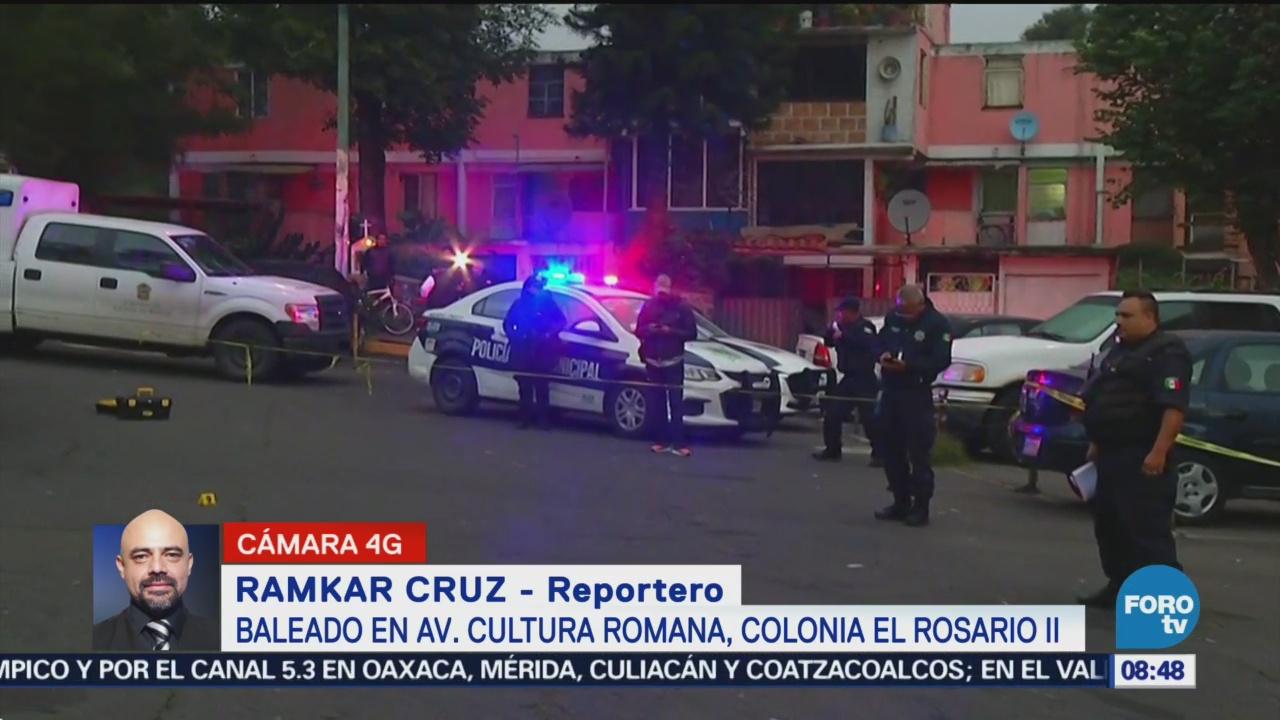 Muere joven baleado en colonia Rosario II, en Tlalnepantla