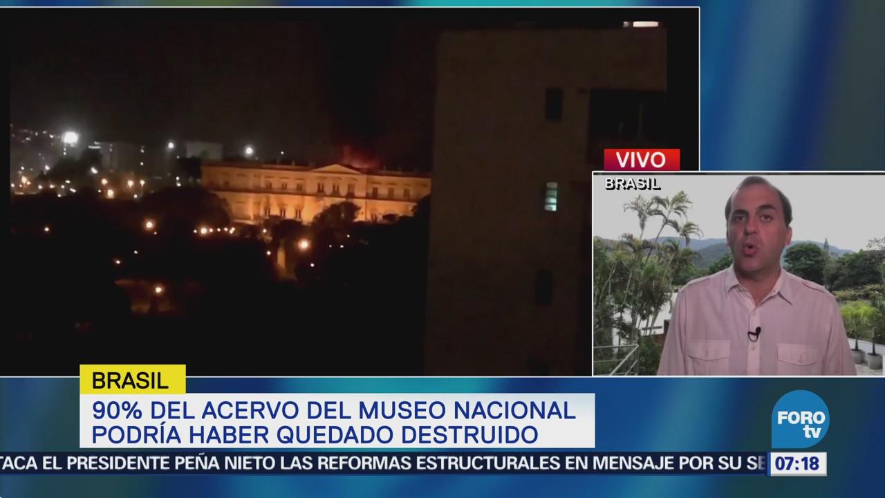 Museo Nacional de Río de Janeiro carecía de financiación