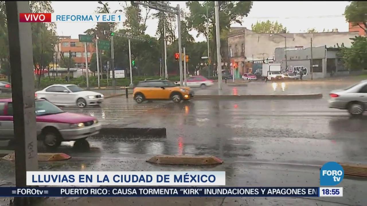 Viernes Lluvioso Ciudad De México Inundaciones