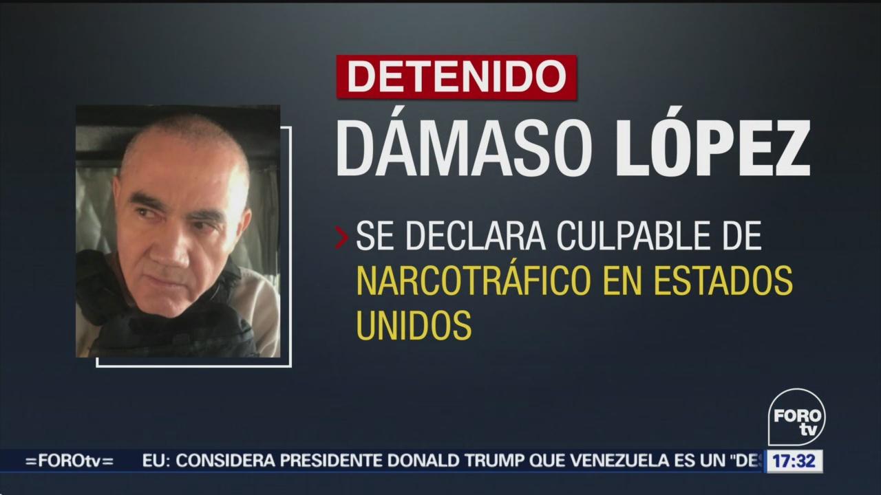 Dámaso López Se Declara Culpable De Narcotráfico