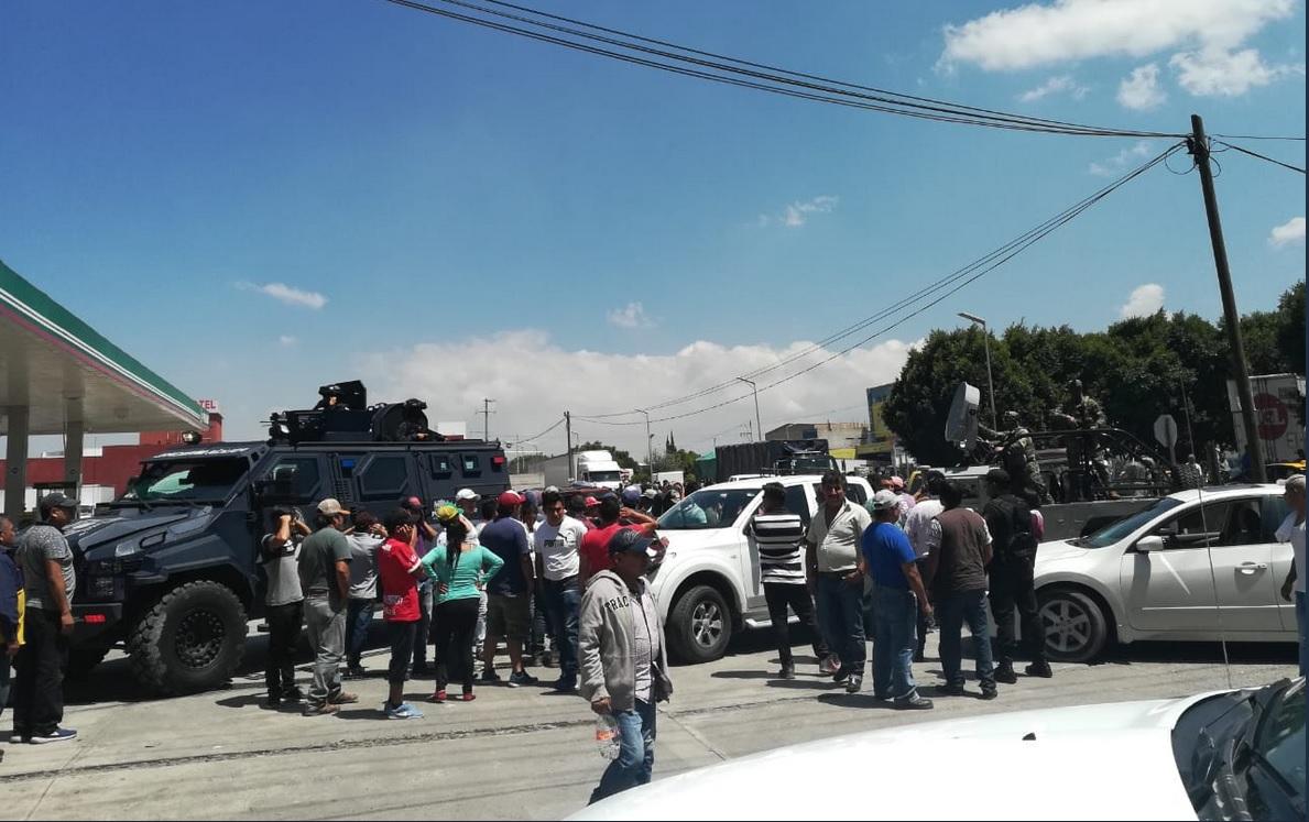 Fuga de gas en Puebla; detienen a dos de 'Los Tarzanes'