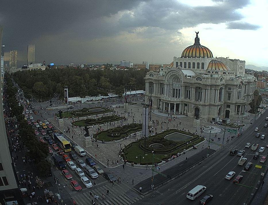Prevén lluvias y granizo para la Ciudad de México