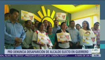 PRD denuncia desaparición del alcalde electo de Cochoapa El Grande