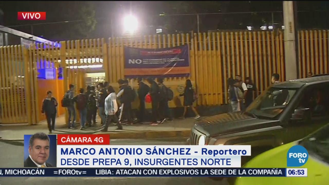 Prepa 9 reanuda actividades tras paro en CU | Noticieros Televisa