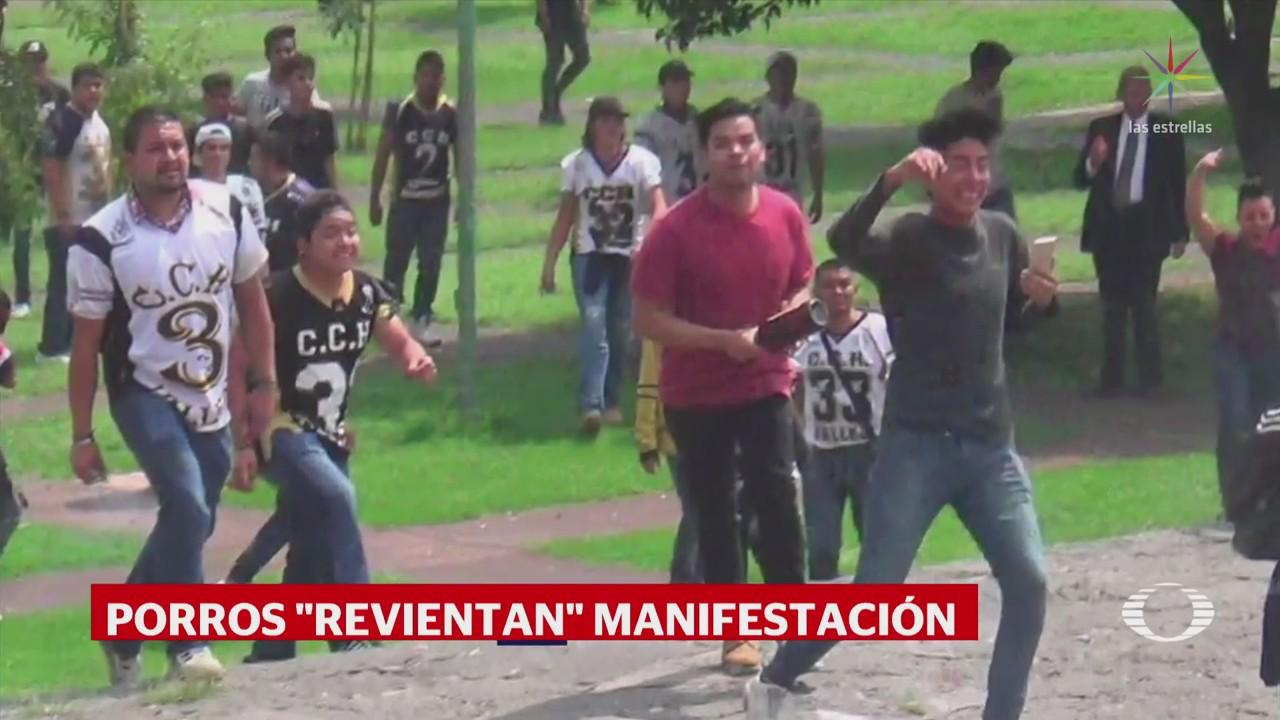 Procuraduría capitalina investiga protesta de estudiantes