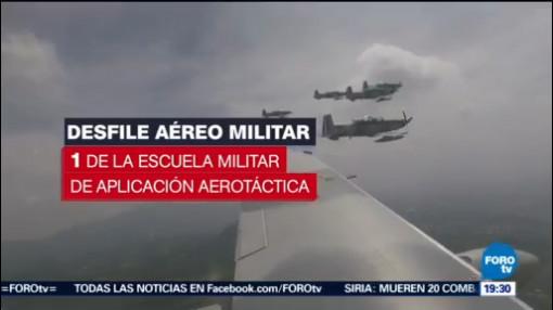 Realizan Inspección Aviones Desfile 16 De Septiembre
