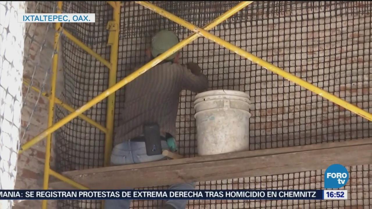 Reconstrucción Oaxaca Paso Lento