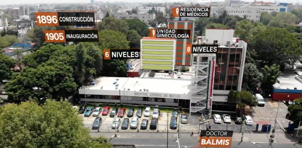 Reconstrucción virtual de los edificios de la CDMX caídos los sismos de 1985 y 2017