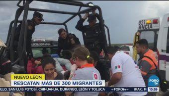 Rescatan Más 300 Migrantes Nuevo León