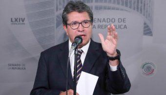 Licencia de Manuel Velasco no fue negociación: Monreal