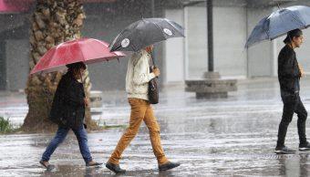 lluvia afecta delegaciones ciudad mexico clima