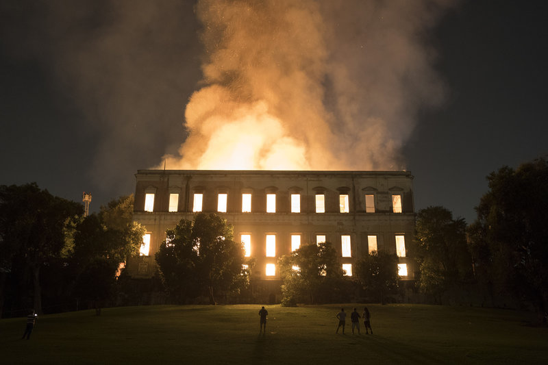 incendio museo nacional rio janeiro videgaray externa solidaridad