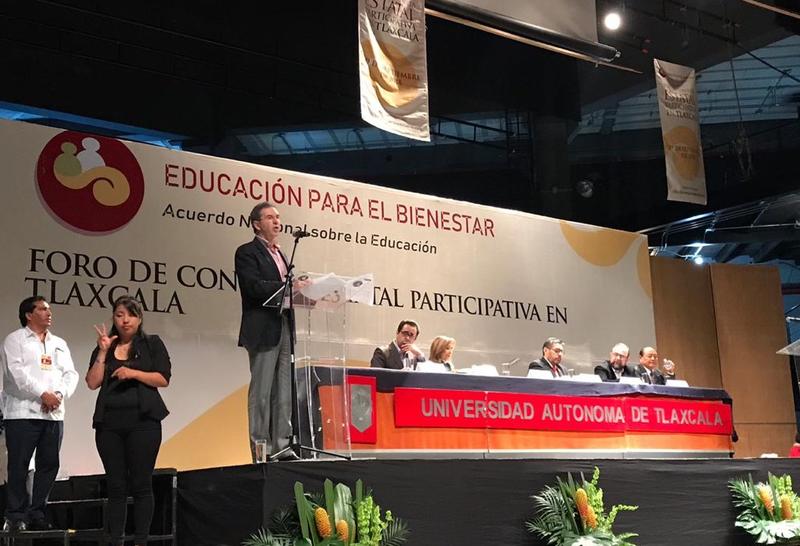 foros educacion tlaxcala esteban moctezuma secretario