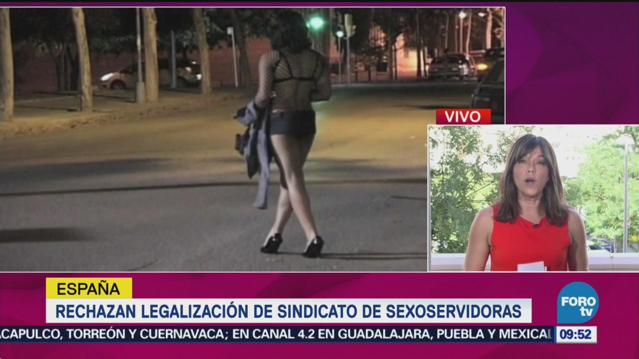 España Rechaza Legalización Sindicato De Sexoservidoras